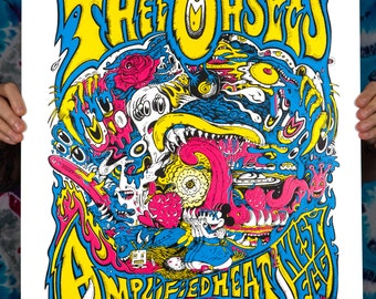variant Thee Oh Sees Amplified Heat Nest Egg Signed Screen Print Artist proof
