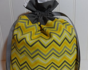 Small Knitting Project Bag