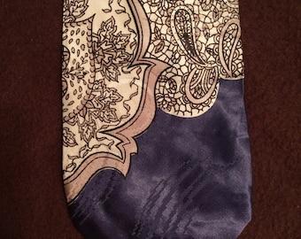 1940s Silk Necktie
