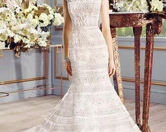 Wedding Dress Val Stefani Collection D8098