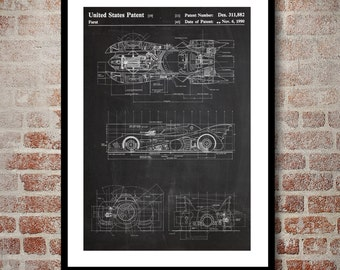 Batman Batmobile Print, Batman Batmobile Patent, Batman Batmobile Poster, Batman Batmobile Art, Batman Batmobile Decor, Batman Batmobile