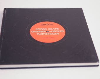 Graphis Record Covers Book - the  evolution of graphics reflected in record packaging