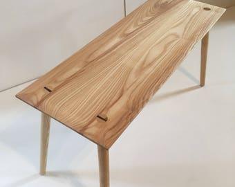 Handmade Ash Bench