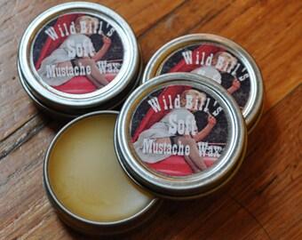 Wild Bill's XXX Brand Fine Mustache Wax--Soft