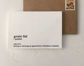 Thanksgiving Thank You Greeting Card