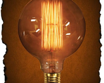 Globe Style G40 Vintage Antique Light Bulb 40 Watt