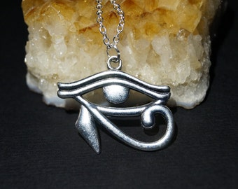 Eye of Horus Necklace - Egyptian Jewelry - Egyptian charm -