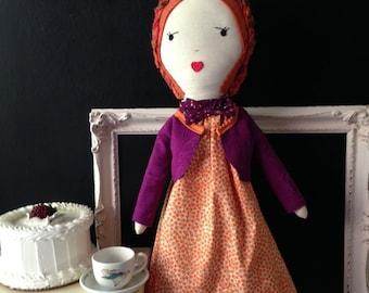 Rag Doll Handmade / Rag Doll / Cloth Doll / Fabric Dolls / Cloth Dolls Handmade/ Dolls / Spoon Ragdoll / Children's Toys / Stuffed Lovies