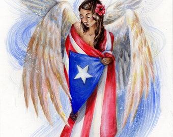 Angel of Puerto Rico, Angel De Puerto Rico, Boriquen