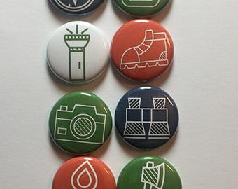 Camping Icon 2 Flair
