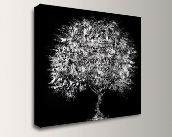 black white art Abstract Painting Acrylic painting black white large canvas original wall art home interior office bedroom decor modern visi