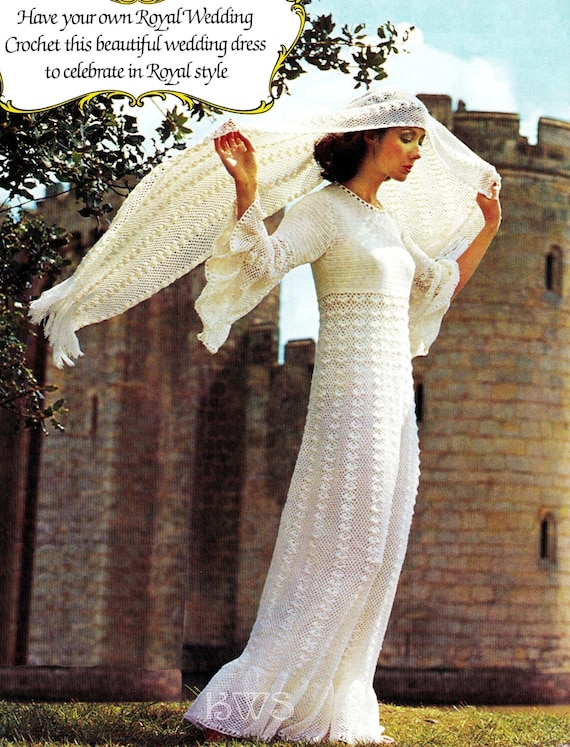 CROCHET Wedding Dress Pattern - Crochet Wedding Gown Dress PDF ...