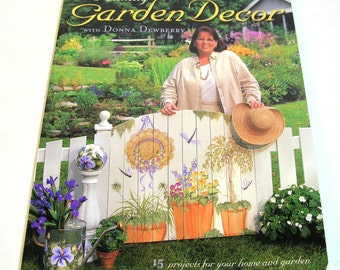 Painting Garden Decor With Donna Dewberry Book