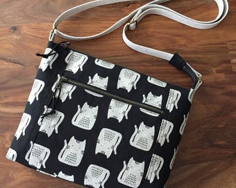Traverse Crossbody Bag - Kitty Cat - Made to Order