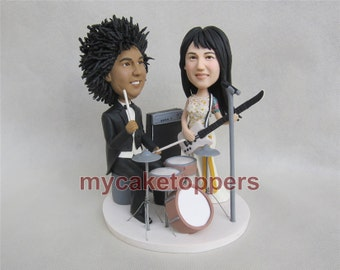 Drums Cake Topper Etsy