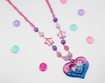Yume Kawaii Heart Necklace