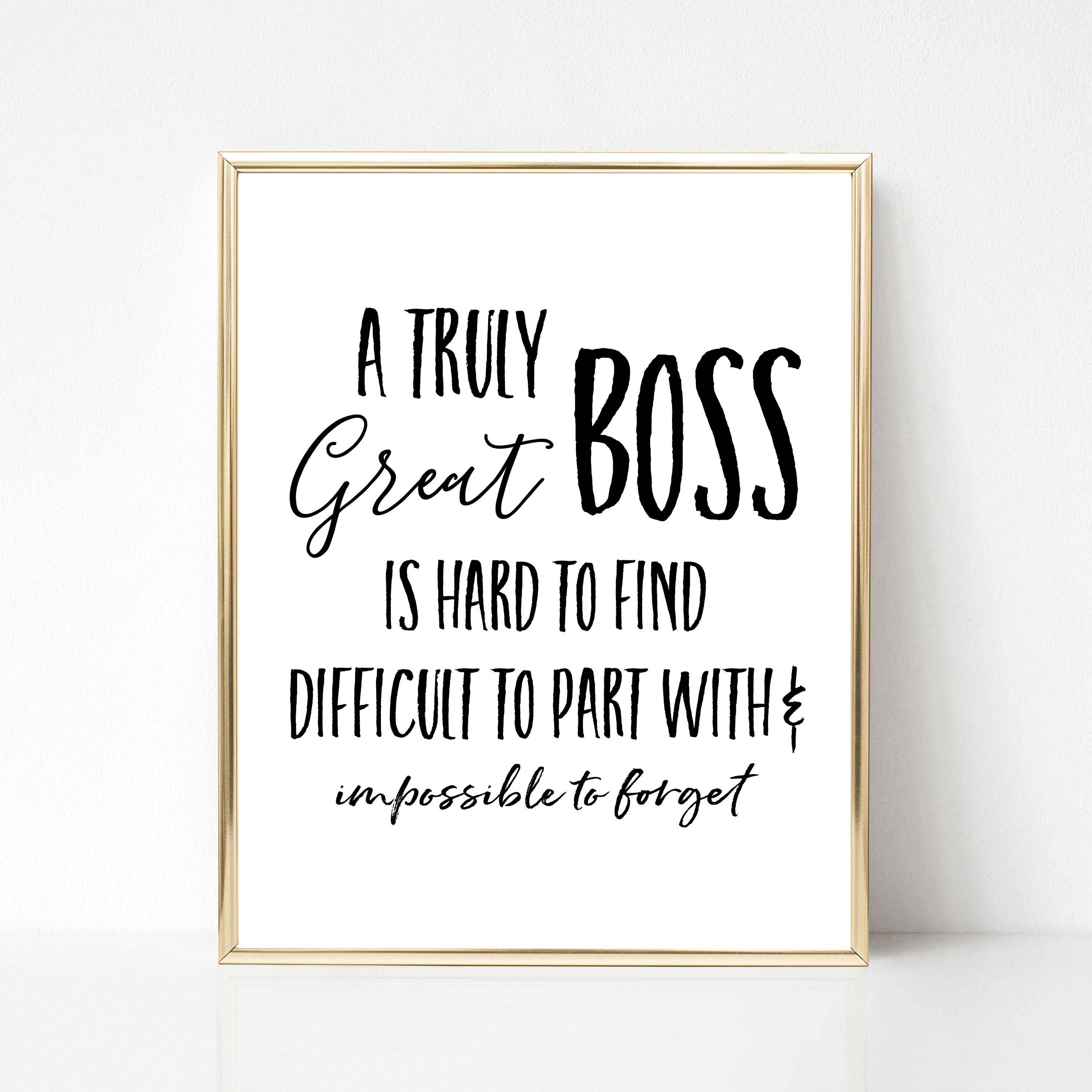 Boss Quotes: Digital Boss Quote Gift Best Boss Quote Gift Boss