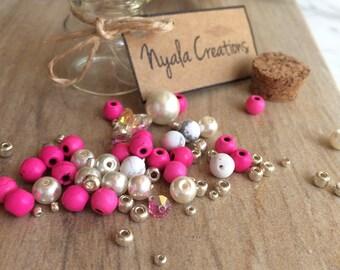 DIY Bracelet Kit Beads, Daughter, Niece, Granddaughter