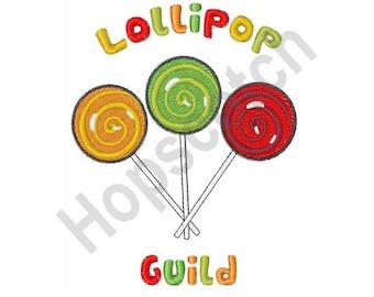 Lollipops -  Machine Embroidery Design