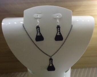 Erlenmeyer Flask Jewelry Set