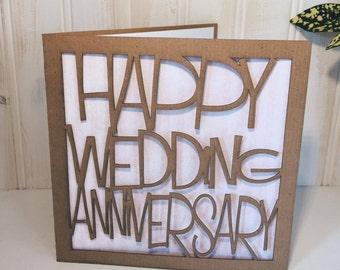 Happy Wedding Anniversary Greetings Card