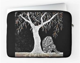 "Macbook Air / Pro / Retina 12"", 13"" & 15"" Laptop Sleeve, Device Case, Laptop Cover with Zip, Padded Laptop Bag, Art Laptop Sleeve"