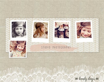 Facebook Timeline Cover Template for Photographers INSTANT DOWNLOAD