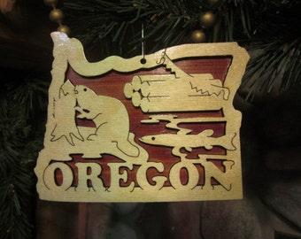 Oregon Ornament