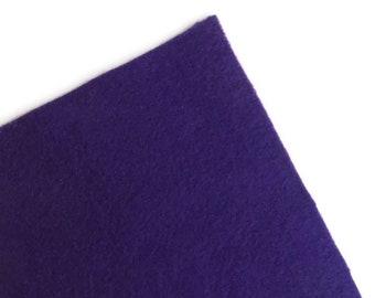 Fieltro de color Morado, rollo fieltro, Tamaño 25 cm x 90 cm, fieltro muy suave al tacto, fieltro acrilico, fieltro de gran calidad