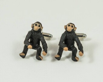 Chimpanzee Cufflinks