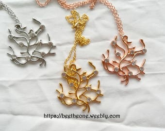 Belle Tree of life necklace from the Disney movie Beauty and the Beast - 3 colors