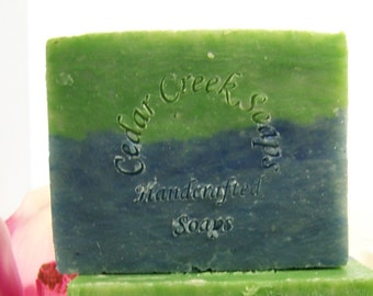 Pears and Berries Soap - Pearberry Cold Processed Soap ~ Pear and Berry Vegan Soap