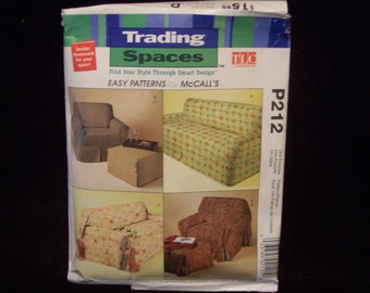 Trading Spaces Slipcover Pattern