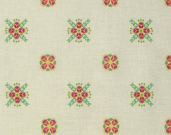 Fibs & Fables Cottage in Snowy by Anna Maria Horner -- 1/2 Yard