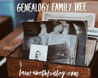 Genealogy Family Tree - One Hour Session