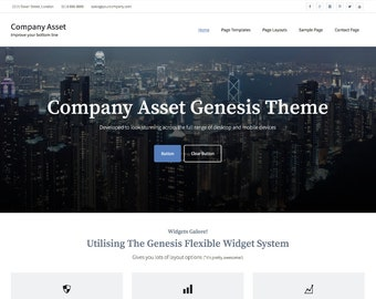 Company Asset Genesis Theme