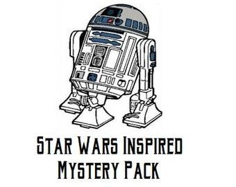 Star Wars Inspired Mystery Razmatats, Set of 3