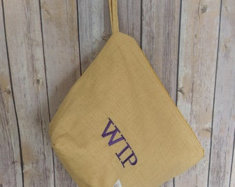 The Classique, Our Take on the Zipper Bag, Knitting Project Bags,