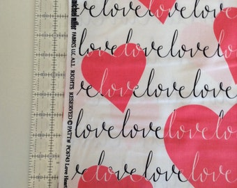 Micheal Miller Love Heart Fabric by the Yard