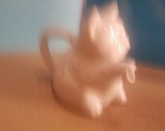 HIC japan off white cat Tea Pot Creamer