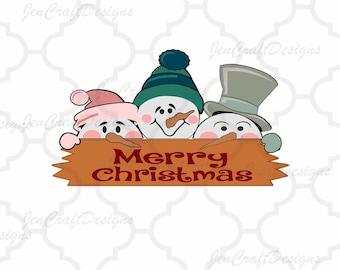 Peeking Snowman face SVG Snowmen SVG lady & man face SVG Halloween Svg File digital cut file Snowman svg, Dxf, Eps, Png Instant Download