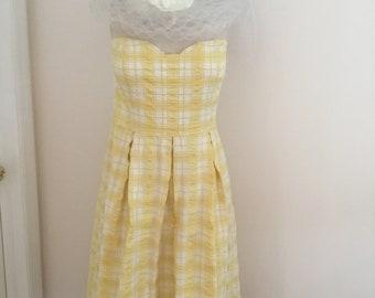 Lilly Pulitzer Sundress, Strappless Dress, Summer Dress, Corset Dress