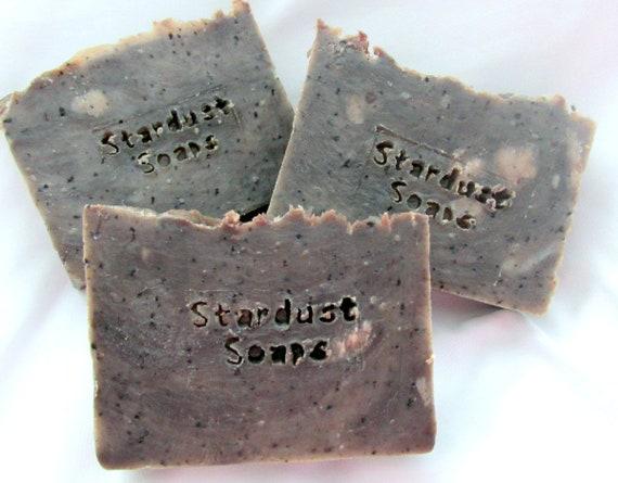 Coffee Soap (handmade with Kona Coffee, moisturizing, lathers, aromatic, wt. 5 oz net, individually packaged)