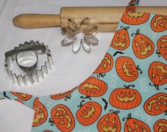 Halloween Jack o' Lantern Child Apron