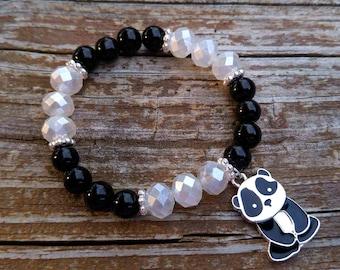 Panda Charm Bracelet
