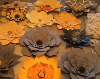 Custom Paper Flower Order