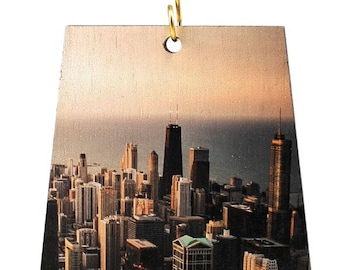 Chicago City Scape Ornament #S997