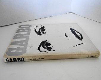 "Vintage 1971 First Edition/Print in Sweden  ""Garbo"" by Ture Sjolander Hardcover Book"