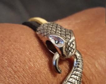 Snake Head Bracelet