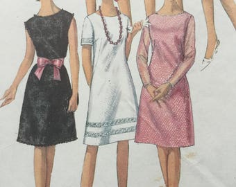 "Sewing pattern -  dress pattern -  Simplicity - vintage sewing pattern - evening dress, Size 14, Bust 34"" - sewing patterns for women"